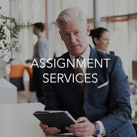 Assignment Services (Click to Learn More)